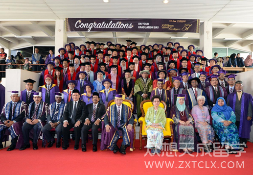 马来西亚理科大学为马来西亚总理颁奖