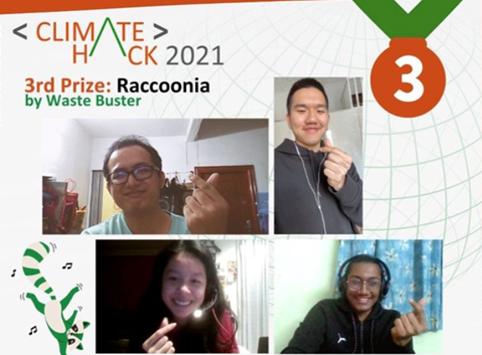 亚太科技大学软件工程专业学生开发Raccoonia