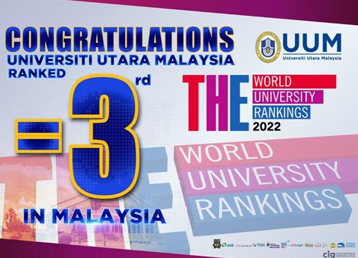 马来西亚北方大学世界排名为601-800位